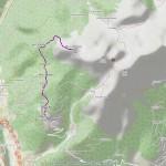 2016-09-20 - Becca di Roisan mappa itinerario