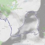 2016-09-13 - Mont Tantanè mappa itinerario