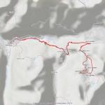 2016-09-11 - Pointe Rousse mappa itinerario
