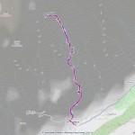 29- Rifugio Boccalatte mappa itinerario
