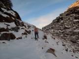 ultimi metri al colle