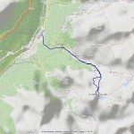 2017-02-15 - Colle Perrin mappa itinerario