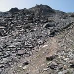pendio-di-rocce-rotte