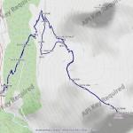 2018-07-07-pointe-de-penne-mappa-itinerario